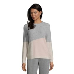Betty Barclay Ribbed Colour Block Jumper Grey