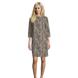 Betty Barclay Leopard Print Dress Camel