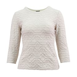 Lebek Textured Top Beige