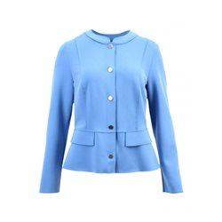 Lebek Button Front Jacket Blue