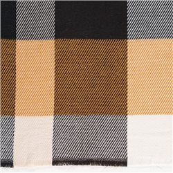Gerry Weber Checkered Scarf Brown