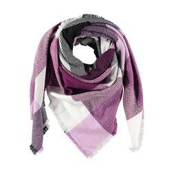 Gerry Weber Checkered Scarf Lilac