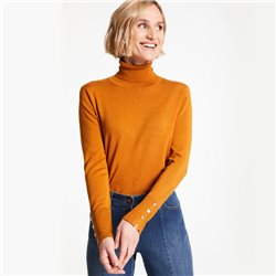 Gerry Weber Light Turtleneck Jumper Ochre