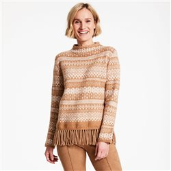 Gerry Weber Norwegian Pattern Jumper Tan
