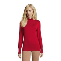 Betty Barclay Polo Neck Long sleeve Jumper Red