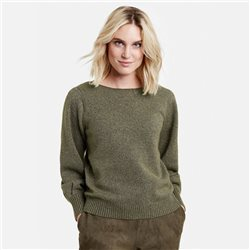 Taifun Jumper With Glitter Effect Olive