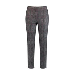 Gerry Weber Checked City Style Trouser Black