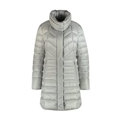 Gerry Weber High Collar Padded Coat Grey