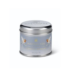 Marmalade Of London Medium Tin Candle Grey