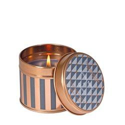 Stoneglow Juniper Berry & Cedar Tin Candle Grey