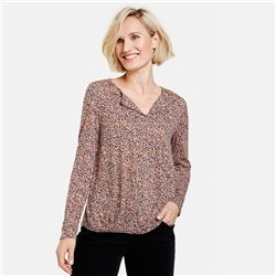 Gerry Weber Leo Print Design Top Lilac