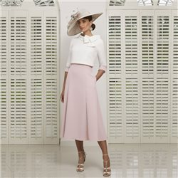 Ronald Joyce 991516 Dress And Jacket Blush