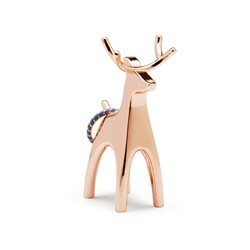 Umbra Anigram Reindeer Ring Holder Copper