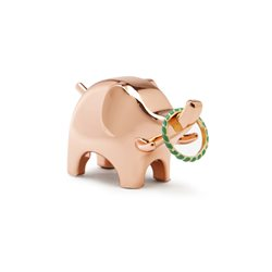 Umbra Anigram Elephant Ring Holder Copper