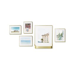 Umbra Matinee Gallery Frames Set Of 5 Gold