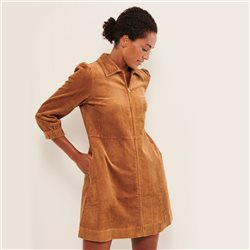 Part Two Eyvor Cord Dress Tan