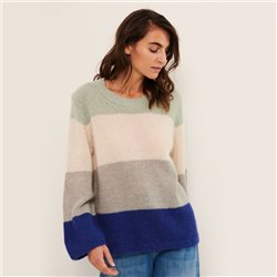 Part Two Knitted Pullover Blue
