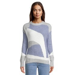 Betty & Co Abstract Pattern Jumper Blue