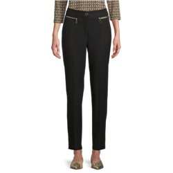 Betty Barclay Zip Front Trousers Black