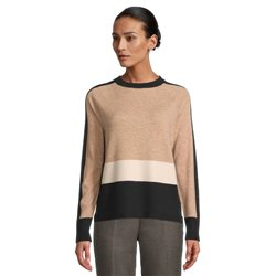 Betty Barclay Colour block Jumper Camel