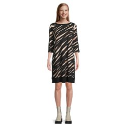 Betty Barclay Animal Print Dress Black
