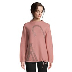 Betty Barclay Fine Knit High Neck Jumper Pink
