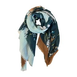 Gerry Weber Floral Scarf Green