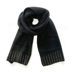 Gerry Weber Scarf With Sequin Detail Black