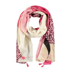 Gerry Weber All Over Pattern Scarf Pink