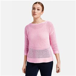 Gerry Weber Ribon Knit Jumper Pink