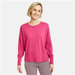 Gerry Weber Organic Cotton Jumper Pink