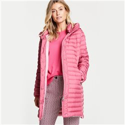 Gerry Weber Padded Coat With Hood Pink