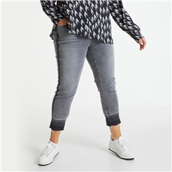 Samoon Cropped Betty Jeans Grey