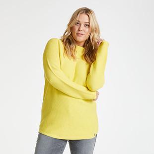 Cotton Rib Knit Jumper Lemon
