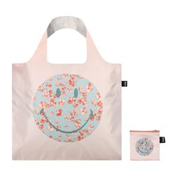 Loqi Blossom Recycled Bag Peach