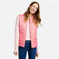 Gerry Weber Quilted Gilet Pink