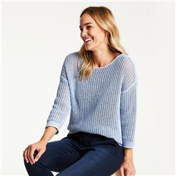 Gerry Weber Ribon Knit Jumper Blue