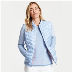 Gerry Weber Quilted Gilet Blue
