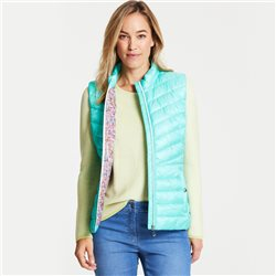 Gerry Weber Quilted Gilet Green