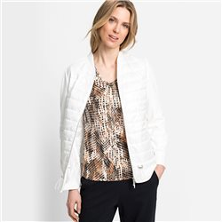 Olsen Quilted Jacket Off White