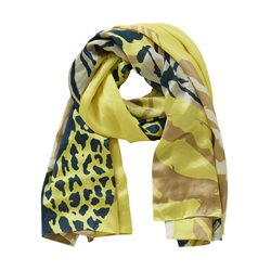 Betty Barclay Mixed Print Scarf Yellow