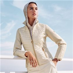 Betty Barclay Qiulted Jacket Beige