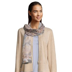 Betty Barclay Letter Print Scarf Beige
