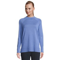 Betty Barclay Fine Knit Jumper With Shoulder Detail Blue