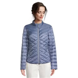 Betty Barclay Quilted Coat Blue