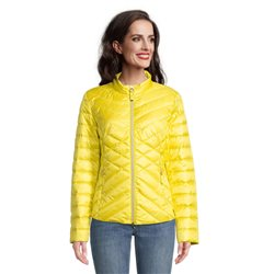 Betty Barclay Quilted Coat Yellow