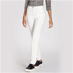 Olsen Mona Slim 5 Pocket Jeans Off White