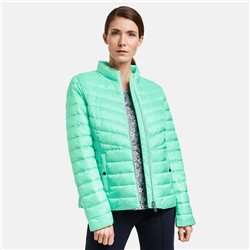 Gerry Weber Quilted Coat Green