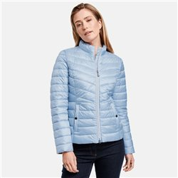 Gerry Weber Quilted Coat Blue