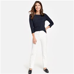 Gerry Weber Romy Straight Fit Jean White